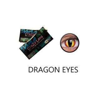 Crazy Lens ColourVUE® Dragon Eyes 2 pack