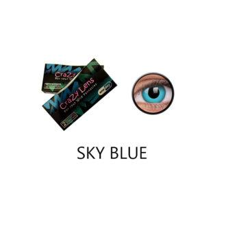 Crazy Lens ColourVUE® Sky Blue 2 pack