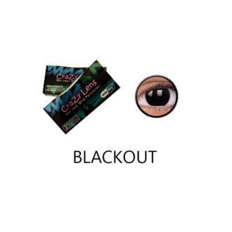 Crazy Lens ColourVUE® Blackout 2 pack