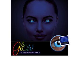 Αποκριάτικοι Ημερήσιοι Φακοί Επαφής Crazy Lens ColourVUE® Glow Blue