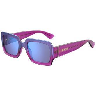 Αποκτήστε τώρα τα γυαλιά ηλίου MOSCHINO MOS 063/S QHO35 από τη νέα συλλογή 2020. Επιλέξτε το δικό σας MOSCHINO MOS 063S QHO35, δωρεάν αποστολή!